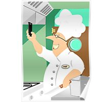 Self Chef smartphone Poster