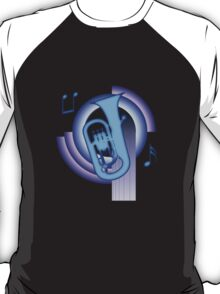 Deco Euphonium (Cool Colors) T-Shirt