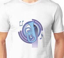 Deco Euphonium (Cool Colors) Unisex T-Shirt