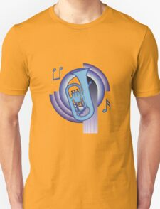 Deco Euphonium (Cool Colors) T-Shirt