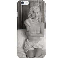 Marilyn Monroe - I Thought You Were Alone! iPhone Case/Skin