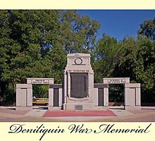 Deniliquin War Memorial by mspfoto
