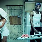 Snoop Dogg Poster Ironing Money by Edward  Landstreet