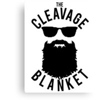 The Cleavage Blanket Canvas Print