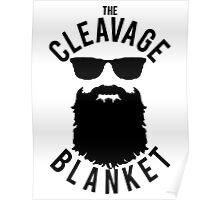 The Cleavage Blanket Poster