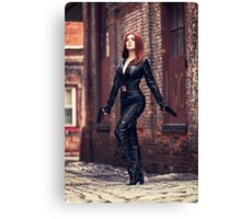 Secret Agent Tanya Wheelock (Photography by Sean William / Dragon Ink Photography) Canvas Print