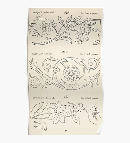Briggs & Company Patent Transferring Papers Kate Greenaway 1886 0041 Poster