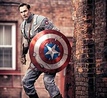Michael Mulligan as Captain America (11.1 - Photography by Sean William / Dragon Ink Photography) by mostdecentthing