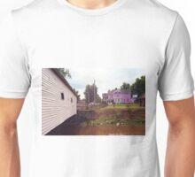 Elizabethton, TN, Covered Bridge and Mansion, 2008 Unisex T-Shirt