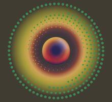 Green Dot Orbit 3 by Geoff Spivey