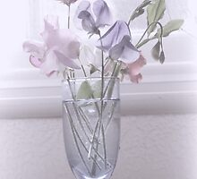 Sweet Peas, Lyme Dorset UK by lynn carter