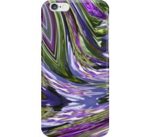 In The Valley Of Purple and Green iPhone Case/Skin