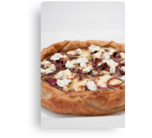 Goats Cheese Tart Canvas Print