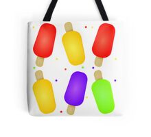 Colorful Popsicles  Tote Bag