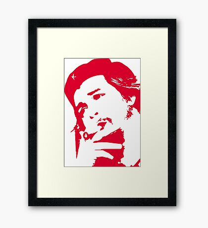 "REVOLUTION with ""Che"" Guevara Framed Print"