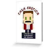 Casa Erotica Greeting Card