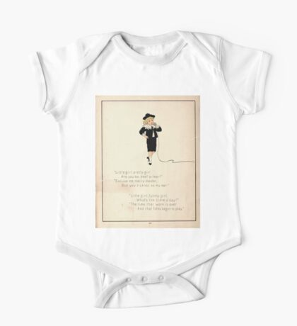 The Glad Year Round for Boys and Girls by Almira George Plympton and Kate Greenaway 1882 0038 Little Pretty Girl One Piece - Short Sleeve