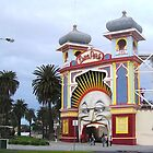 Just for fun Luna Park entrance by Virginia McGowan