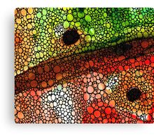 A New Direction - Stone Rock'd Art By Sharon Cummings Canvas Print