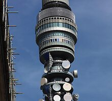 BT tower - London by Penny V-P