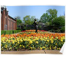 The Tulip Beds  Poster