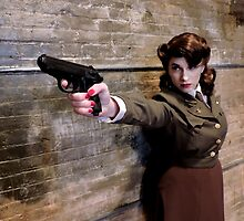 Tanya Wheelock as Peggy Carter (5.1 - Photography by Misty Autumn Imagery) by mostdecentthing