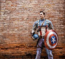 Michael Mulligan as Captain America (1.1 - Photography by Sean William / Dragon Ink Photography) by mostdecentthing