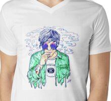 Zombie Louis  Mens V-Neck T-Shirt