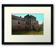 Padernello Castle Framed Print