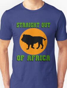 LION-STRAIGHT OUT OF AFRICA T-Shirt