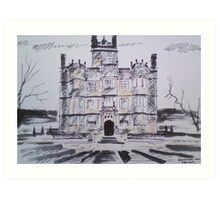 'Gawthorpe Hall' Art Print