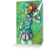 Pearl | Athena Greeting Card