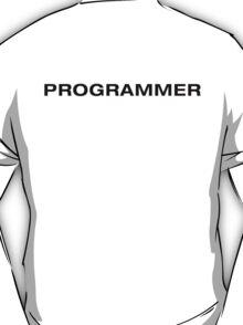 Programmer (Black Text) T-Shirt