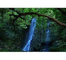 Magical waterfall Photographic Print
