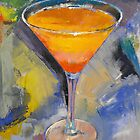 Mango Martini Painting by Michael Creese