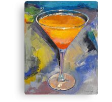Mango Martini Painting Canvas Print
