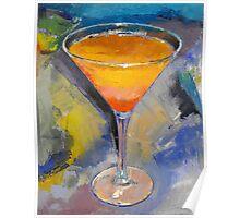 Mango Martini Painting Poster