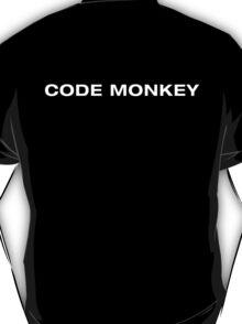 Code Monkey (White Text) T-Shirt