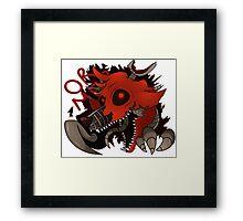 Nightmare Foxy Framed Print