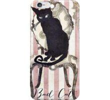 Bad Cat I iPhone Case/Skin