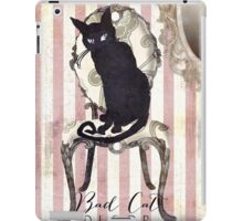 Bad Cat I iPad Case/Skin