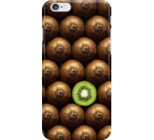 Sliced kiwi between group iPhone Case/Skin