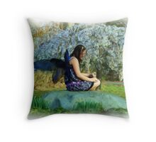 Blooming Fey Throw Pillow