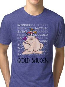 Welcome to Gold Saucer Tri-blend T-Shirt