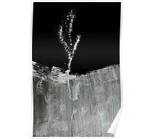 0022 - BrushAndInk - Blade Gone Fluff Poster