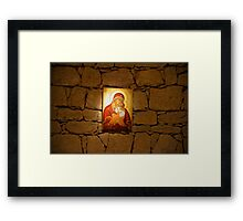 Mother Mary Wall Framed Print