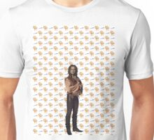 Rumplestiltskin / Mr Gold Dagger and Spinning Wheel Print (OUAT) Unisex T-Shirt