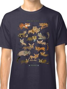Wild Cats of India Classic T-Shirt