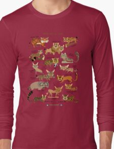 Wild Cats of India Long Sleeve T-Shirt