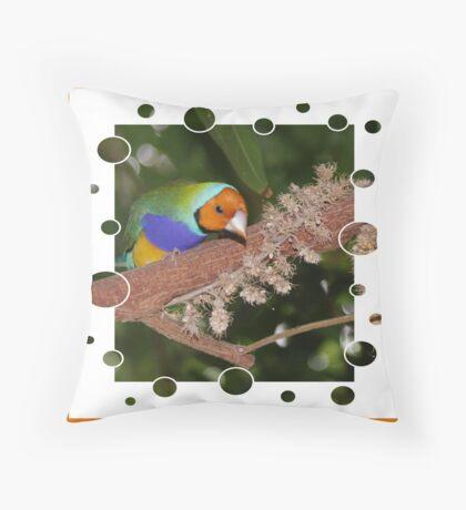 Hummingbird Lookout Throw Pillow